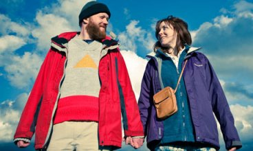 Steve Oram and Alice Lowe in Sightseers