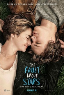 The Fault in Our Stars poster-bajo-la-misma-estrella